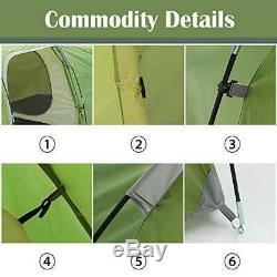 Camping Tents 3-4 Person/Man/People with 2/Two Room for Hiking Travelling