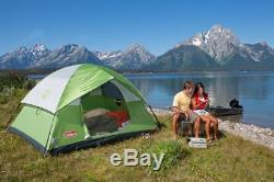 Camping Tents Equipment Supplies Gear Big 6 Man Person Dome