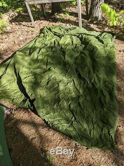 Canadian Military 4-Man RECCE crew Tent Surplus Camping with frame & fly