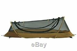 Catoma Pop Up Tent, 1 Man Shelter, Military Tents, Coyote Brown Camping Hiking