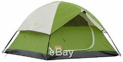 Coleman 6-Person Dome Tent for Camping Sundome Tent with Easy Setup Renewed