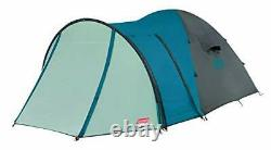 Coleman Cortes 5 Plus Tent, 5 man Dome Tent with Porch, 5 Person Family Camping