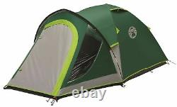 Coleman Kobuk Valley 4 Man Person 1 Room BlackOut Dome Camping Fishing Tent