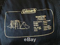 Coleman MONTANA 4 Man Tent Camping 445x215cm