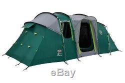 Coleman Mackenzie 6 Blackout 6 Man Tunnel Tent Green + Camping & Caravanning