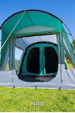Coleman Oak Canyon 4 Man Person Family Camping Tunnel Tent BlackOut Rooms