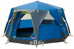 Coleman OctaGo 3 Man Octagon Family Tent Blue