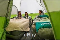 Coleman Screened Famliy Sleeps 8 Man Person Dome Camping Big Tent with Rain Cover