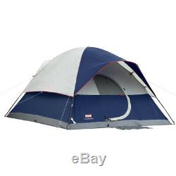 Coleman Tent 12X10 Elite Sundome 6 Person with LED Lighting 2000004659