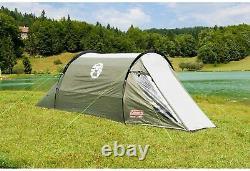 Coleman Tent Coastline 2 Plus 2 Man Camping Trekking Waterproof Tunnel
