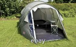Coleman Tent Coastline 3 Plus, Compact 3 Man Tent. Waterproof tent for camping