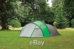 Coleman Tent Cortes 4, 4 Man Lightweight Dome Tent, 4 Person Family Camping In