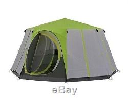 Coleman Tent Octagon 6 to 8 man Festival tent large Dome Tent