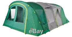 Coleman Valdes 6XL Air BlackOut 6 Man Tunnel Tent + Free Camping and Caravanning