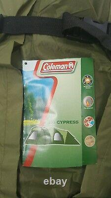 Colemans Cypress 8 Man Tent. 8 Person Family Camping Tent Outdoor Hiking Travel