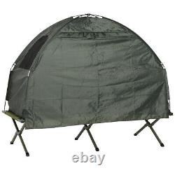 Compact Folding One Man Outdoor Travel Camping Hunting Cot Bed Tent for Adults