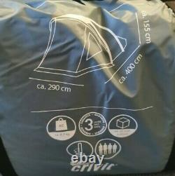 Crivit 4 Person Family Camping Tent Four Man Inflatable Tent BRAND NEW