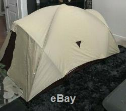 Diamond Brand Gear 2-3 Man Person Vtg Camping Tent with Rainfly Rare Style 300-189