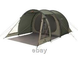 Easy Camp Galaxy 400 Tunnel Tent 4 Person, 3 Rooms Green