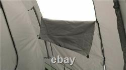 Easy Camp Huntsville Twin Tunnel Tent 4 Person, 3 Rooms, Light/ 5709388060211
