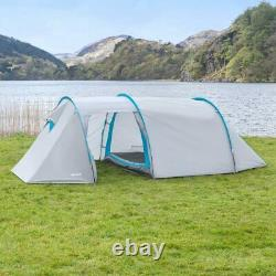 FORAGER Montana 4 Man Tent WATERPROOF 4 MAN TUNNEL TENT Family Tent Camping