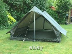 French Army 2 Man Military Tent Survival Camping Bushcraft Waterproof Green Camo