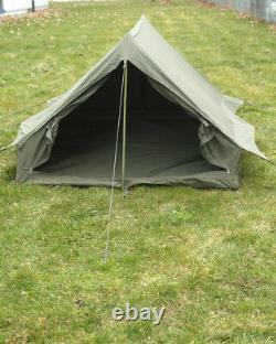 French Two Man Tent Olive Used Outdoor Camping Duo Tent Biwak Tent