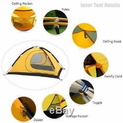 GEERTOP Ultralight 2 Man Tents for Camping Waterproof Double Layer 4 Season B