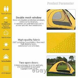 GEERTOP Ultralight 2 Man Tents for Camping Waterproof Double Layer 4 Season B