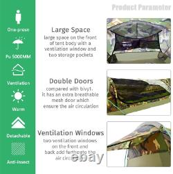GEERTOP Ultralight Single Person Bivy Tent for Camp Waterproof 1 Man Tent for Ca