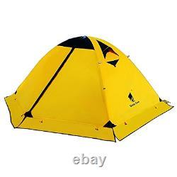 Geertop Ultralight 2 Man Tents for Camping Waterproof Double Layer 4 Season 2