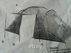 Go Outdoors Ozzie 2x2 4 Man Camping Tent°° FREE PP °°