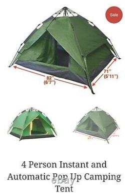 Great 4 Man Camping Tent