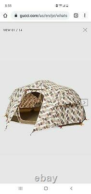 Gucci x North Face Tent AND Sleeping Bag