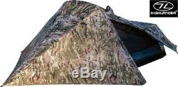Highlander Blackthorn 1 Man Person Tent HMTC Backpacking Camping Ultralight Camo
