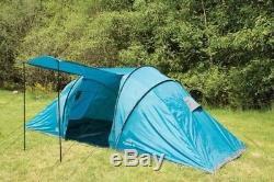 Highlander Cypress 6 Person, 2 Dormitorio Festival Tienda Camping Senderismo