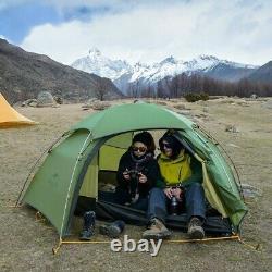 Hot Inside cloud peak tent ultralight two man camping hiking outdoor Raincover