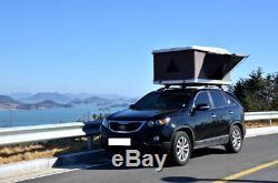 Hyundai Tucson 15+ 2 Man Hard Shell Roof Tent Rack Waterproof LED Light Camping