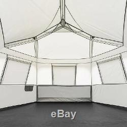 Instant Cabin Tent Ez Set Pop Up Hexagon 8 Man Person Outdoor Camping Shelter