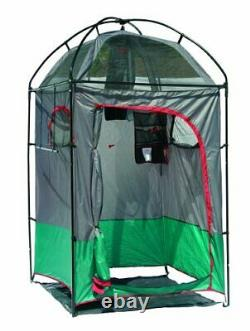 Instant Portable Outdoor Camping Shower Privacy Shelter Changing Room Gray