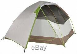 Kelty Acadia 4 Tent Camping Shelter, 4 Man Brown