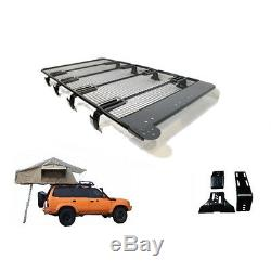 Land Rover Defender 4 Man Roof Tent + Full Roof Rack Travel Camping Outdoor