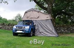 Land Rover Discovery 1&2 3 Man Roof Tent With Annex Travel Outdoor Camping