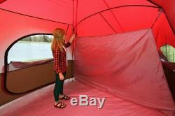 Large 10 Man Person Cabin Tent 2 Room Family Camping All Season Sleeping Unit