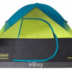 Large 6 Person Man Dome Tent Carry Bag & Rainfly Camping Sleeping Unit Shelter