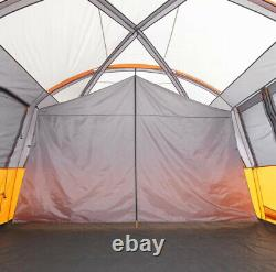 Large Dome Tent 3 Season 12 Man Rain Resistant Camping Hiking Fishing Space
