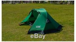 Light 2 Two Man 1 Single One Person Hiking Trekking Camping Shelter A Tent Green