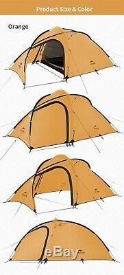 Light 3 Man Person Waterproof Hiking Trekking Tent Survival Camping Shelter Bush