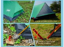 Light Single One Man 1 Person Waterproof A Ridge Tent Survival Camping Shelter