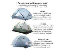 Light Waterproof 2 Person Two Man Hiking Tent Trekking Camping Dome 4 Season 1